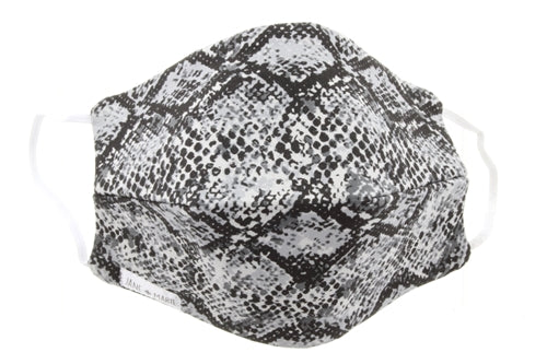 Jane Marie Snakeskin Face Mask