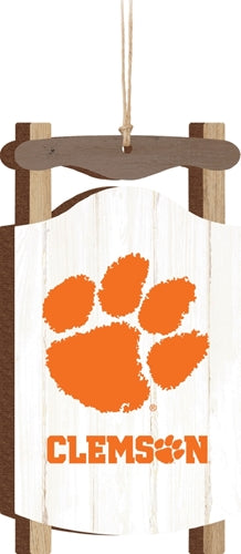 P. Graham Dunn Clemson Tigers Sled Ornament