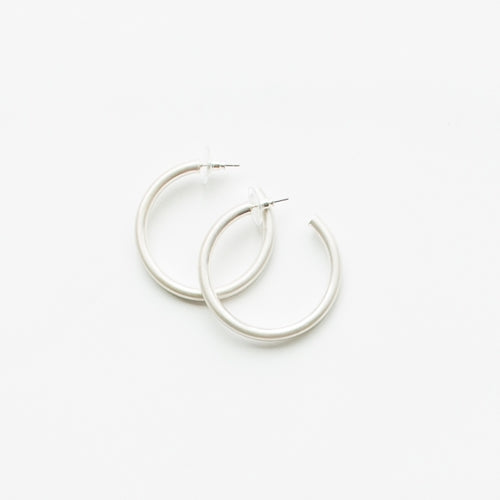 Michelle McDowell Heather Silver Earrings