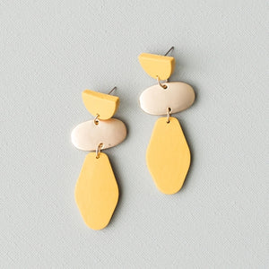 Michelle McDowell Jenna Yellow Earrings