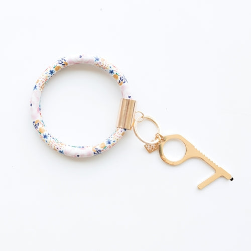Mary Square Autumn Blossom Clean Key Bracelet