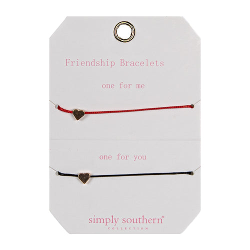 Simply Southern Heart & Star Shareable Friendship Bracelet
