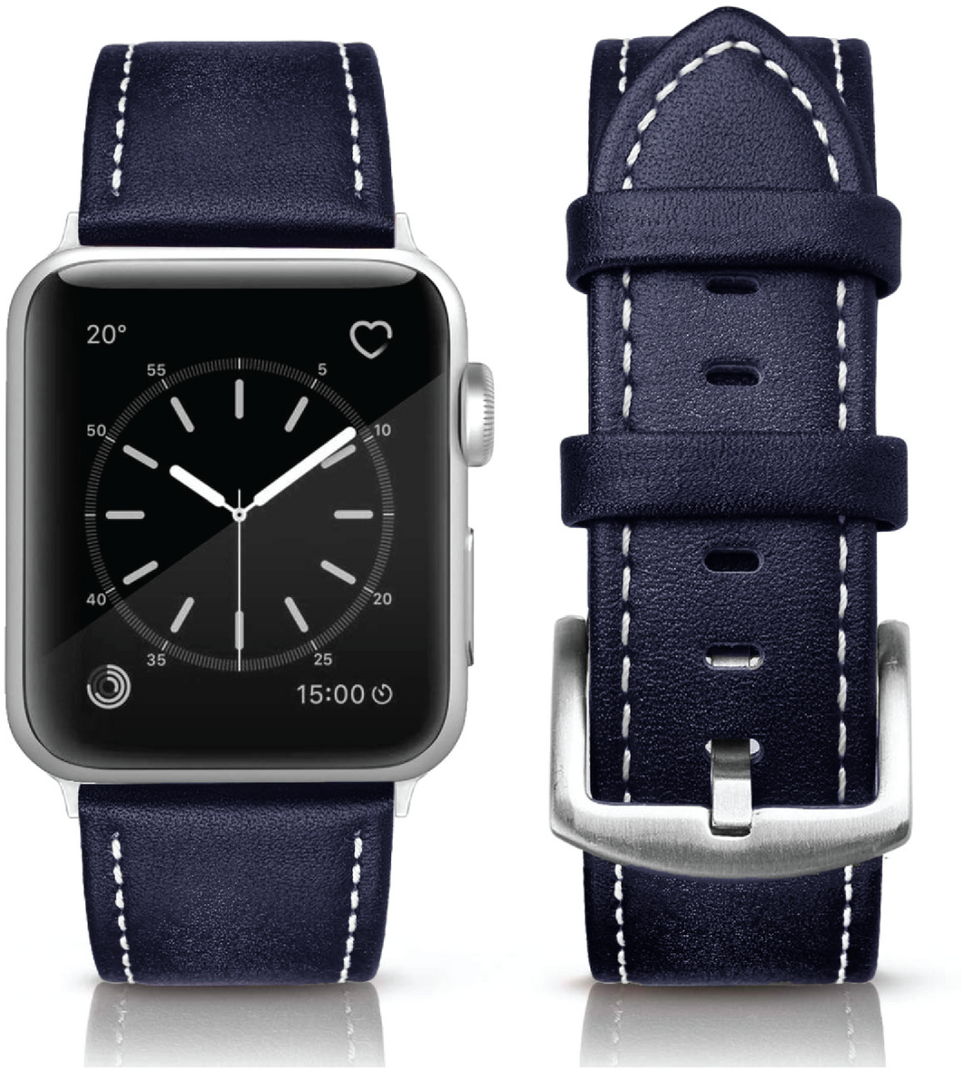 Simply Southern Navy Vegan Leather Watch Band