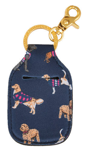 Simply Southern Dog Sanitizer Keychain