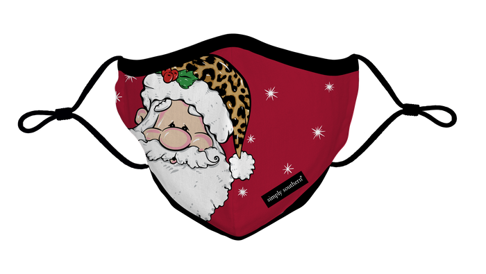 Simply Southern Collection Holiday Santa Face Covering