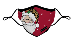 Simply Southern Collection Youth Holiday Santa Face Covering