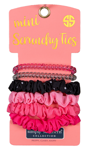 Simply Southern Dots Mini Scrunchy Ties