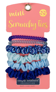 Simply Southern Ogee Mini Scrunchy Ties