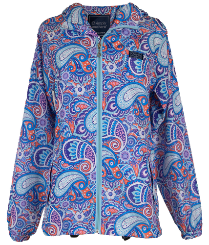 Simply Southern Collection Paisley Rain Jacket