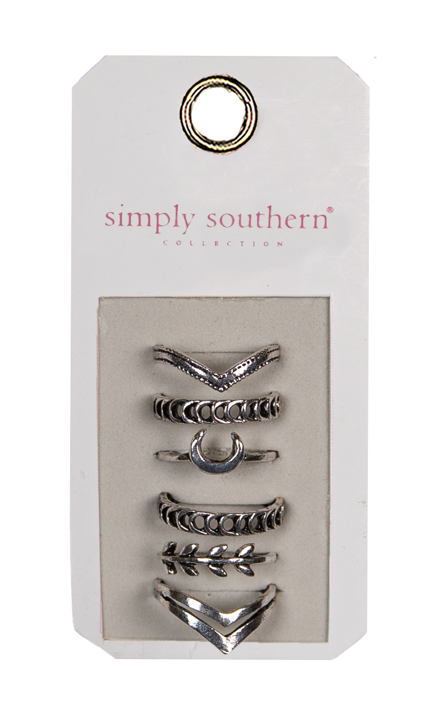 Simply Southern Horn Ring Set