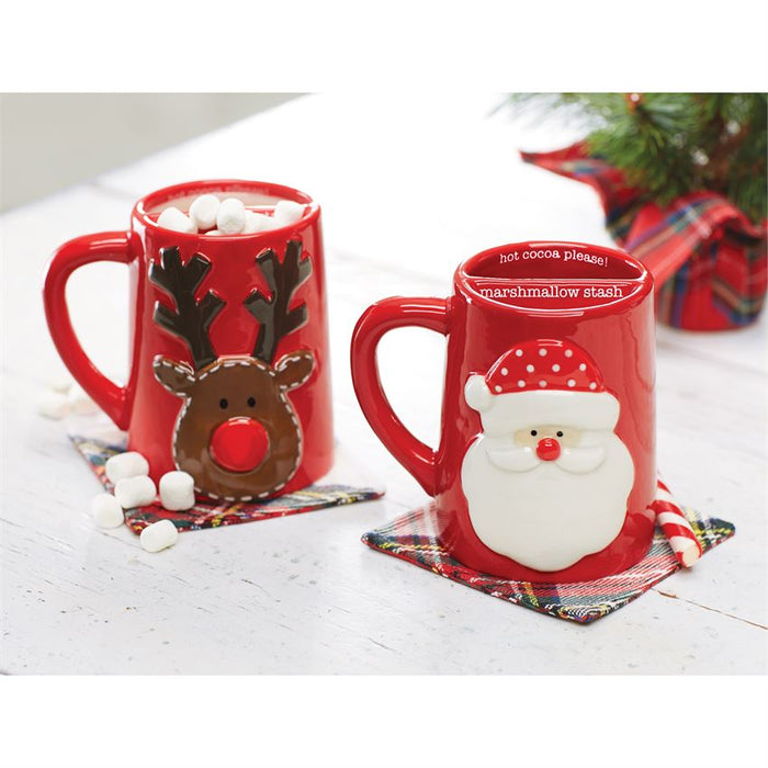 Mud Pie Marshmallow Stash Mugs