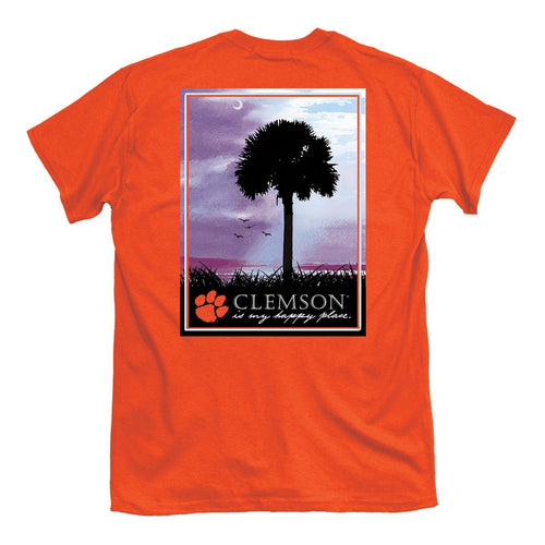 PALMETTO SHIRT CO. Clemson Happy Place