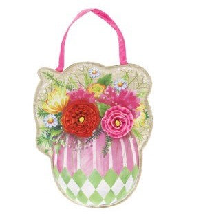 EVERGREEN SP20 EASTER DOOR DECOR