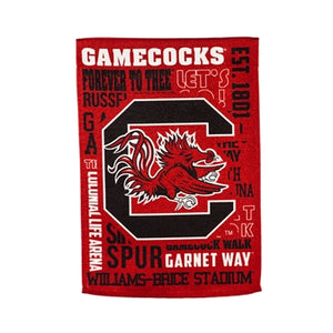 Evergreen University of South Carolina Fan Rules Double Sided House Flag