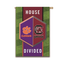 Load image into Gallery viewer, EVERGREEN HOUSE DIVIDED HOUSE FLAG