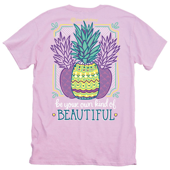 ITS A GIRL THING BEAUTIFUL PINEAPPLE SHORT SLEEVE T-SHIRT