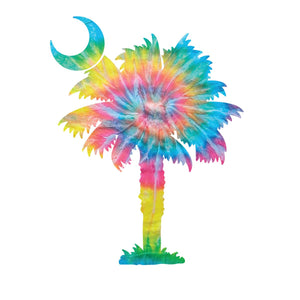 Palmetto Shirt Co. Tie Dye Decal