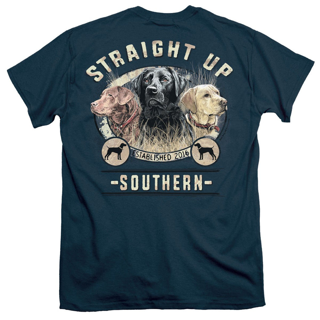 STRAIGHT UP SOUTHERN HOMEWARD SET SHORT SLEEVE T-SHIRT