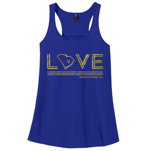 PALMETTO SHIRT CO. SC Love Tank Top