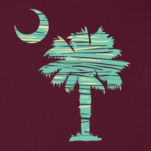 PALMETTO SHIRT CO. WOOD PALMETTO LONG SLEEVE T-SHIRT