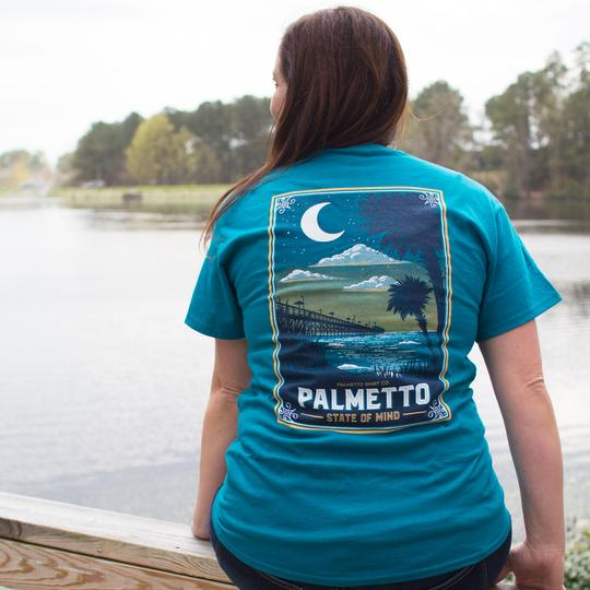 PALMETTO SHIRT CO. PALMETTO STATE OF MIND T-SHIRT