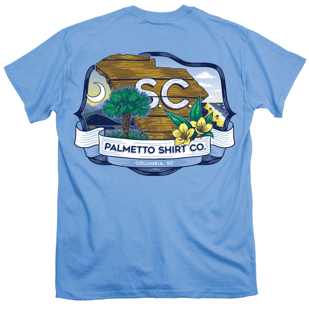 Palmetto Shirt Co. SC Plaque T-shirt