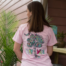 Load image into Gallery viewer, Palmetto Shirt Co. Hey Y'all Pattern Palm