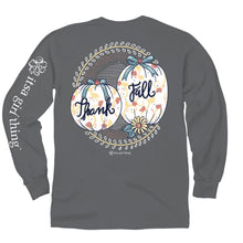 Load image into Gallery viewer, ITS A GIRL THING THANK FALL LONG SLEEVE T-SHIRT