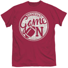 Load image into Gallery viewer, ITS A GIRL THING GAME ON GARNET SHORT SLEEVE T-SHIRT