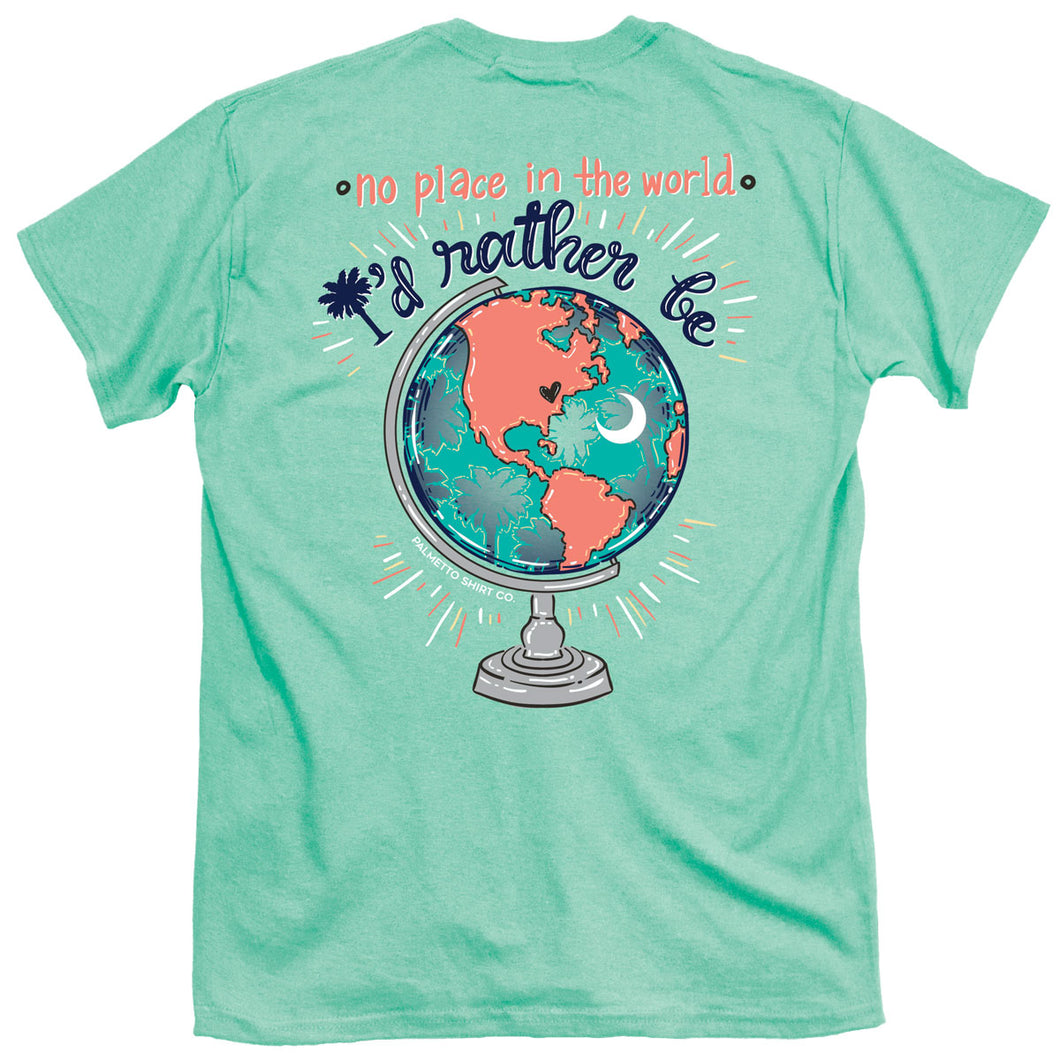 Palmetto Shirt Co. Palmetto Globe T-shirt