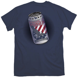 Straight Up Southern American Lager T-shirt
