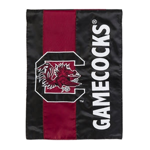 EVERGREEN UNIVERSITY OF SOUTH CAROLINA EMBELLISH GARDEN FLAG