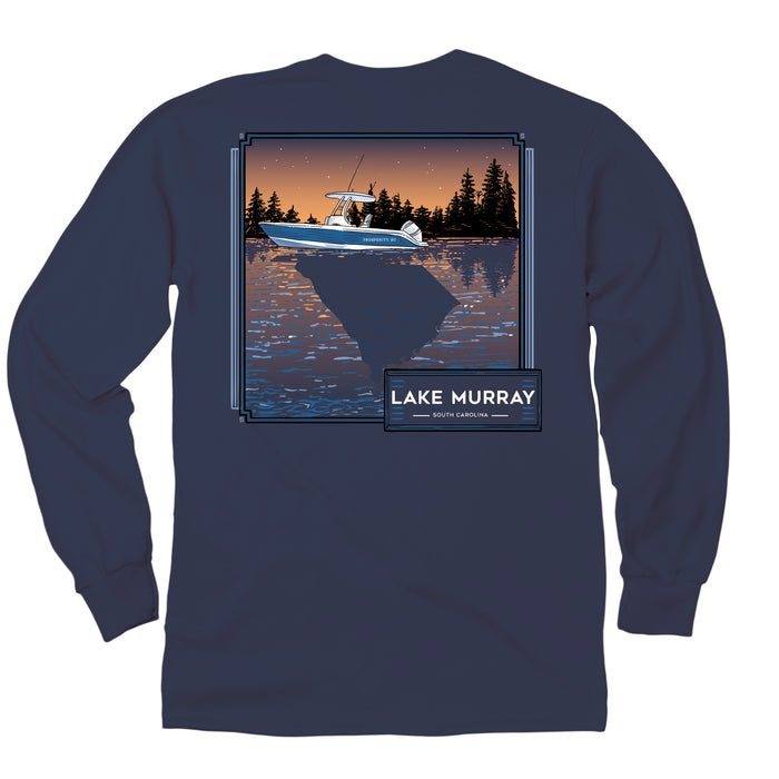 KOSS CUSTOM DESIGN - LONG SLEEVE LAKE SC REFLECTIONS