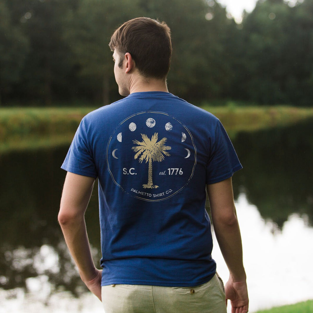 Palmetto Shirt Co. Moon Phase Seal T-shirt