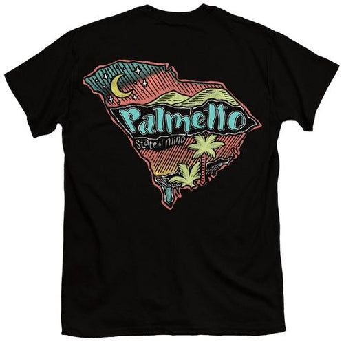 Palmetto Shirt Co. Chalky Palmetto State Short Sleeve T-shirt