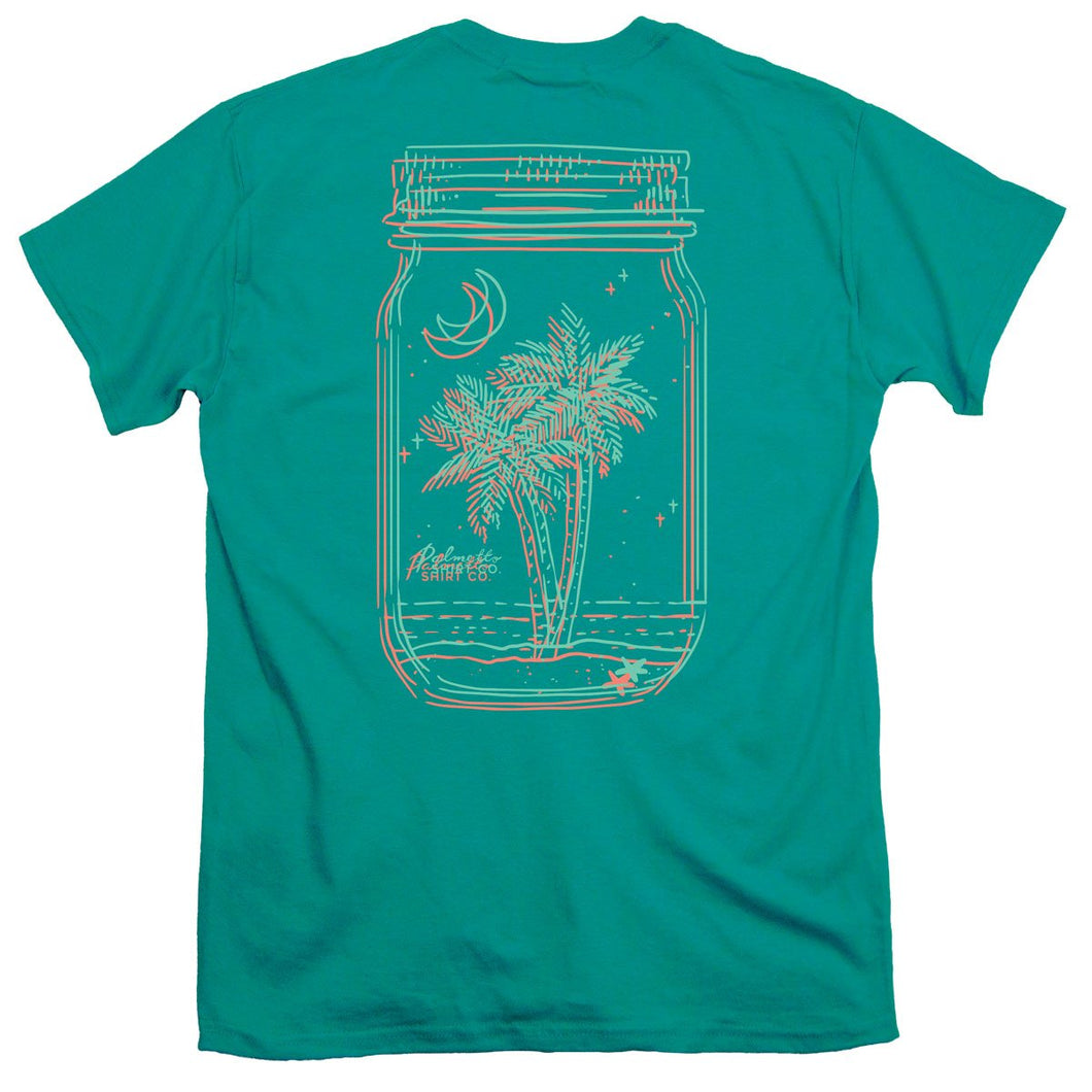 Palmetto Shirt Co. 3-D Mason Jar Short Sleeve T-shirt