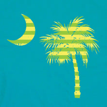 Load image into Gallery viewer, Palmetto Shirt Co. Retro Palm Badge T-shirt