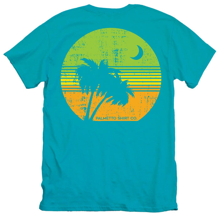 Palmetto Shirt Co. Retro Palm Badge T-shirt