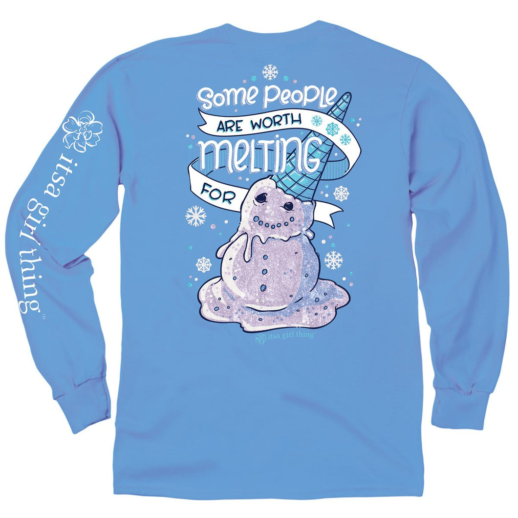 ITS A GIRL THING YOUTH LONG SLEEVE - MELTING FOR