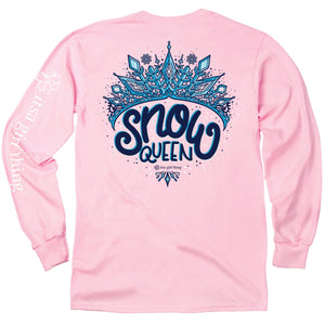 ITS A GIRL THING LONG SLEEVE SNOW QUEEN