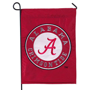 EVERGREEN UNIVERSITY OF ALABAMA CRIMSON TIDE GARDEN FLAG