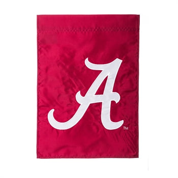 EVERGREEN UNIVERSITY OF ALABAMA APPLIQUE GARDEN FLAG