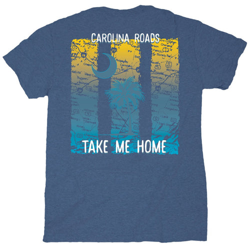Palmetto Shirt Co. Carolina Roads Short Sleeve T-shirt
