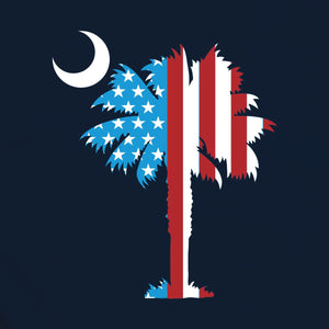 Palmetto Shirt Co. Proud Brave Free T-shirt