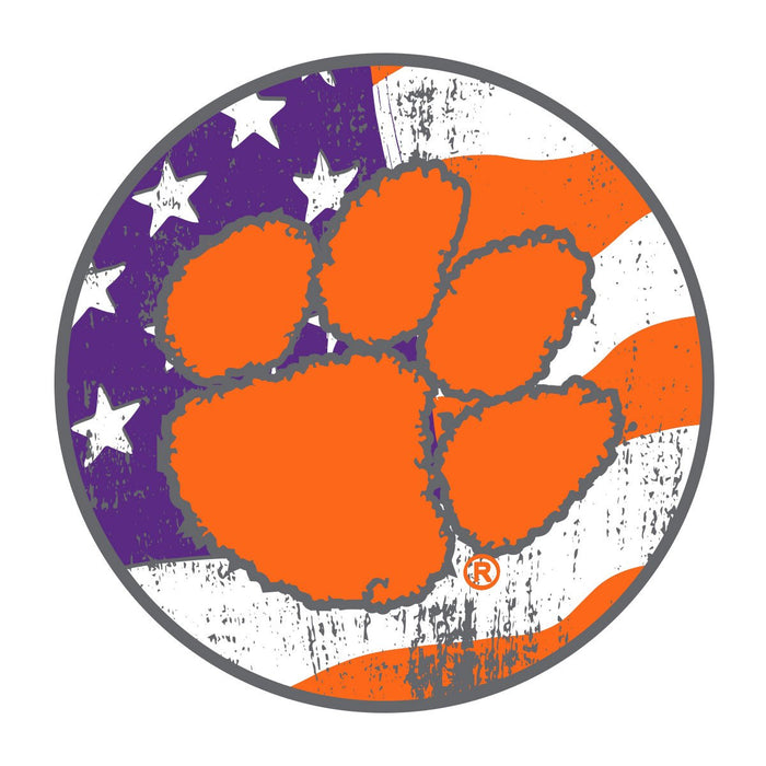 Palmetto Shirt Co. Clemson University American Decal