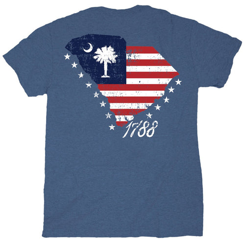 Palmetto Shirt Co. Flag State Short Sleeve T-shirt