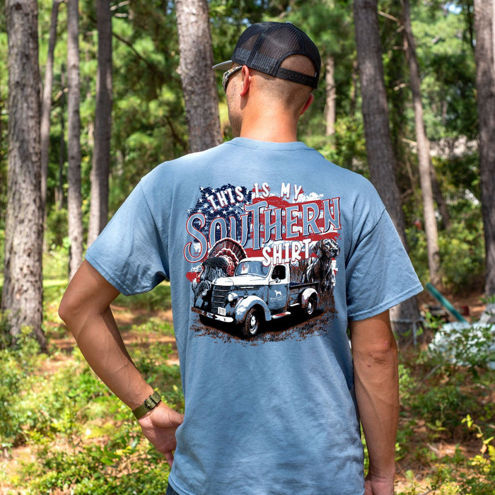 Straight Up Southern - Southern Shirt Stone Blue