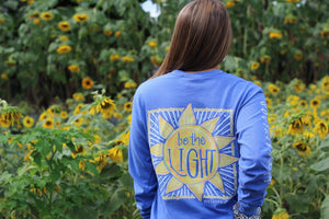 Southernology Be the Light Sun Long Sleeve T-shirt