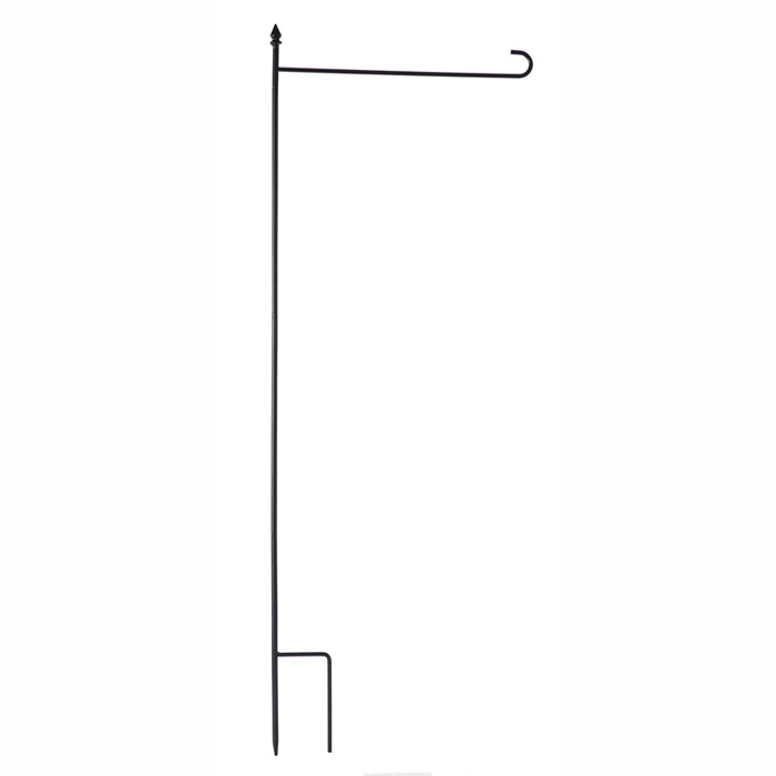 EVERGREEN GARDEN FLAG STAND 4PC