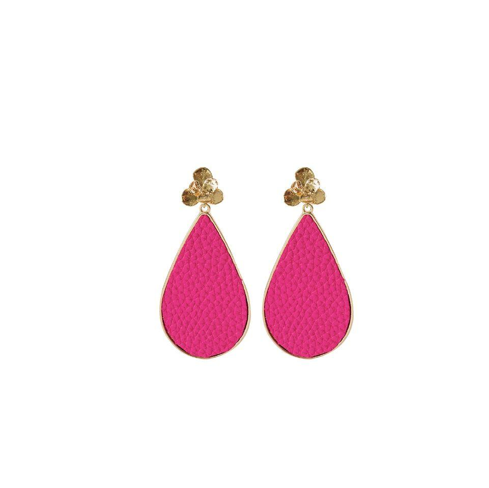 MICHELLE MCDOWELL MIAMI PINK EARRINGS
